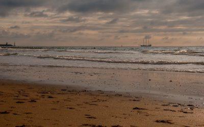 Afscheid van de kust